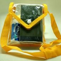 Pouch mika / tas transparan/sling bag /tas selempang