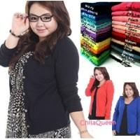 Basic Cardigan Big Size / Basic Cardigan Jumbo / Basic Cardigan XL