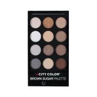 City Color Smokey Nudes Palette