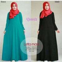 Gamis Muslim Polos Payung Busui Babat / Maxi Dress Umbrella Murah