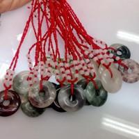 Kalung Batu Akik Tali