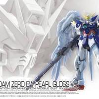 Bandai RG Wing Gundam Zero EW Pearl Gloss Ver.