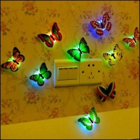 lampu hias / lampu led 7 warna / lampu kupu kupu