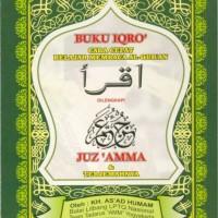 Buku Iqro Juz Amma dan Terjemahnya Ukuran Besar Asli Original