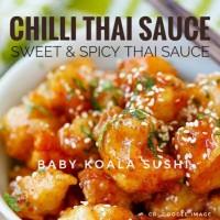 Sweet Chilli THAI SAUCE | Spicy Saus Sambal Ala Thailand Saos