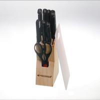 Pisau set Vicenza V910K Knife Set 10pcs