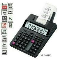 Paket CASIO HR-100 TM - Print Kalkulator + Adaptor