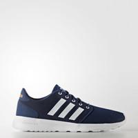 Adidas Women Cloudfoam QT Racer Shoes Blue Original