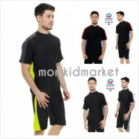 Baju Renang Pria XXL Dewasa Atas Bawah Celana Pendek DV-DW-AB-029