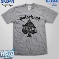 Kaos Band Metal Motorhead Ace Of Spades - MOTOR6 SG