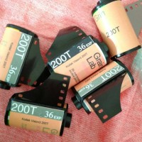 Roll Film 35mm Kodak Vision3 200T DEV ECN-2
