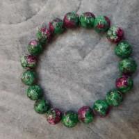 natural gelang green ruby tanzania
