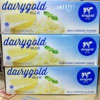 Keju Dairy Gold Blue Cheddar 2 KG ( dairygold sekelas prochiz gold)