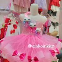 Gaun Pesta Anak/Dress Tutu Hello Kitty