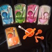 Mangkok masker 4 in 1/tempat masker/masker set
