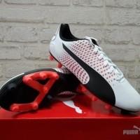 Sepatu Bola Puma Adreno III FG white redoriginal hp