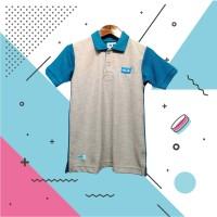 Kaos Polo Anak BK Biru