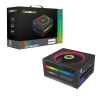 GAMEMAX PSU 850W Modular RGB Gold 80 Plus