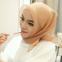 Jilbab organza khusus warna yg d gambar