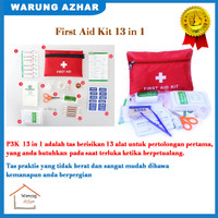 Alat Emergency P3K Outdoor First Aid Kit 13 in 1