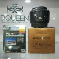 Lensa Fix YongNou/ YONGNUO 50mm F1.8 For CANON