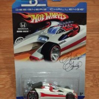 Hot Wheels Designers Challenge Honda F1 Racer Concept Match Colour Wht