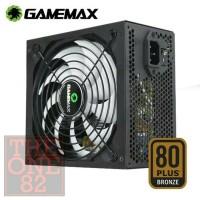 psu gamemax 450 watt psu pure 80+ plus bronze certified