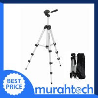Weifeng Portable Tripod Stand 4-Section Aluminium Legs with Brace