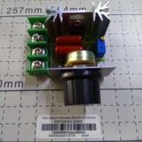 2000W SCR Variable Speed Motor Controller AC Dimmer Kontrol Kecepatan