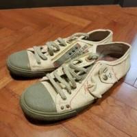Sepatu Denim Kowalski Army Green Casual Asli