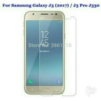 Tempered Glass Samsung Galaxy J3 Pro J330 2017 Anti Gores Kaca