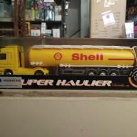 Diecast Truck Nex Welly Oil Tanker Super Hauler 1/87 NEW MIB Sudah SNI
