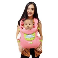 Baby Care Gendongan Ransel Bayi Motif Karakter - Pink
