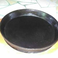 Hot plate (piring steak) bulat 22 cm