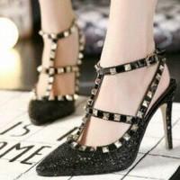 S2FR-379-81 Sepatu Wanita High Heels Sendal Pesta Sepatu Fashion Murah