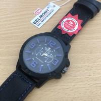 Jam Tangan Pria Murah Belmont 2153 Original Black list Blue