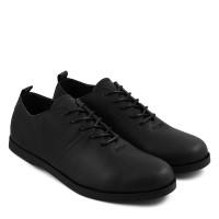 Sauqi Brodo Low Vegas Hitam Sepatu Pria casual Loafers Formal Kerja