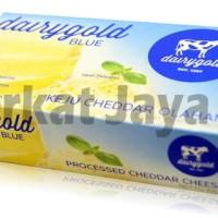 Keju Cheese Cheddar Dairygold Blue 180 Gram Keju Olahan Murah