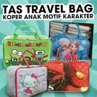 Tas Travel Bag Koper Anak Motif Karakter. Stock Terbatas!