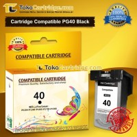 Cartridge Canon PG40 PG 40 PG-40 Black Catridge 40 IP1880 IP1980 mp198