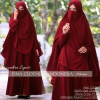 set syari azzahra free cadar ori by DNA