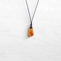 Boho Honey Calchedony Pendulum Kalung Kristal Hippie