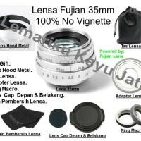 Lensa Fujian For Fujifilm X-MOUNT X-A3 X-A2 X-A1 X-T1 X-T2 X-T10 35 mm