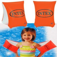 Ban Lengan Intex Pelampung Tangan Arm Bands Floats Renang Orange