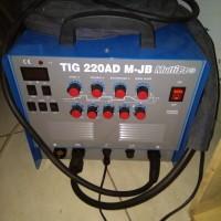 Tig Welding AC DC AC/DC 220AD M-JB Multipro Mesin Las Argon Tungsten