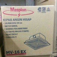 Exhaust Fan / Ceiling Exhaust / Hexos Fan Maspion MV16EX