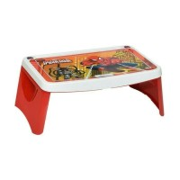 Meja Lipat Belajar Anak Lesehan Karakter Spiderman Merah Napolly