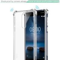 Nokia 8 Anti Crack Shock Resistant Case Silicon by Imak