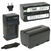Wasabi Power Battery Kit for Sony NP-F730, NP-F750, NP-F760, NP-F770
