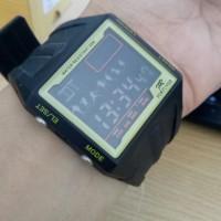 Jam Tangan Pria Wanita Sport Fortuner T6609G Original Black Yellow